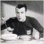 Volker Hildebrandt, Beckenbauer Suppe, 2006, Acryl auf Leinwand, 70 x 70 cm