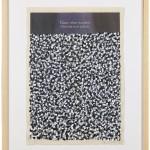 Volker Hildebrandt, Ganz oben, 1997, Acryl auf Zeitung, 57 x 40 cm