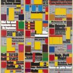 Volker Hildebrandt, M 106, 1993, Acryl auf Leinwand, 160  x 120 cm