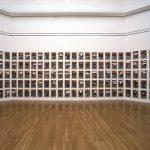Volker Hildebrandt, M 62, 1993, insgesamt 357 Arbeiten, Acryl auf EXPRESS auf Leinwand, je 47 x 33 cm, Ausstellung PICTORY, Städt. Sammlungen Chemnitz, 1994