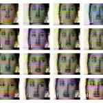Volker Hildebrandt, Monica, 1998, 16-teilig, je C-Print, 30 x 40 cm