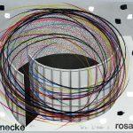 Volker Hildebrandt, Rosa Schnecke Rosa Periode, 1986, Mischtechnik auf Poster, 40 x 59 cm, 50 Unikate