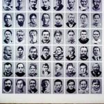 Volker Hildebrandt, Szondi, 2000, 48 Tafeln Acryl auf MDF, je  40 x 30 cm