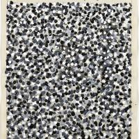 Volker Hildebrandt, The Dictionary of Art, 1996, Acryl auf Zeitung, 57 x 40 cm