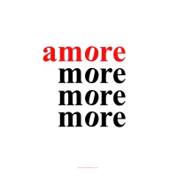 Volker Hildebrandt, amore more,  2015, Digitaldruck, 70  x 70 cm