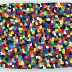 Volker Hildebrandt, ohne Titel 2, 1984, Acryl auf Karton, 50 x 70 cm