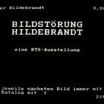 Volker Hildebrandt, Bildstörung Hildebrandt, 1983, BTX (1)