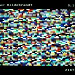 Volker Hildebrandt, Bildstörung Hildebrandt, 1983, BTX (18)
