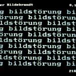 Volker Hildebrandt, Bildstörung Hildebrandt, 1983, BTX (20)