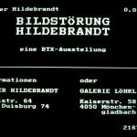 Volker Hildebrandt, Bildstörung Hildebrandt, 1983, BTX (22)