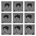 Volker Hildebrandt, Callas Weekend Block, 2008, 9-teilig, C-Prints, je 40 x 40 cm