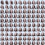 Volker Hildebrandt, Dietrich (Goddesses), 2002, Offset-Druck, 50 x 50 cm, 100 Exemplare