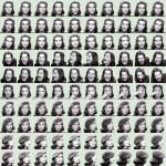 Volker Hildebrandt, Garbo (Goddesses), 2002, Offset-Druck, 50 x 50 cm, 100 Exemplare