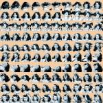 Volker Hildebrandt, Hayworth (Goddesses), 2002, Offset-Druck, 50 x 50 cm, 100 Exemplare