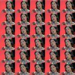 Volker Hildebrandt, Netrebko My lips kiss with such passion chinesisch, 2007,  C-Print auf Dibond, 60 x 60 cm
