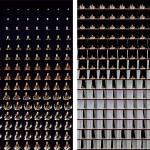 Volker Hildebrandt, Papst kommt und geht, 2005, 2-teilig, C-Print, je 100 x 100 cm, Slg. Museum van Bommel van Dam, Venlo und Slg. MOCAK, Krakau