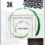 Volker Hildebrandt, Rosa Raum Prospekt 2, 1985, Mischtechnik auf Karton, 65 x 50 cm