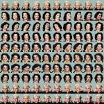 Volker Hildebrandt, Russel (Goddesses), 2002, Offset-Druck, 50 x 50 cm, 100 Exemplare