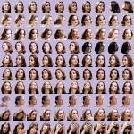 Volker Hildebrandt, Schneider (Goddesses), 2002, Offset-Druck, 50 x 50 cm, 100 Exemplare