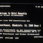 Volker Hildebrandt, Welcome to Hotel Rasputin, 1989, BTX (27)