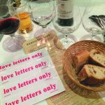 Volker Hildebrandt, love letters only, im LIPP mit Claudia Hauck am 27.5.15