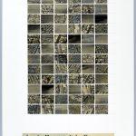 Volker Hildebrandt, Aus der Hauptstadt des Vergessens, 7.3.1998, Collage auf Karton, 59,5  x 42 cm
