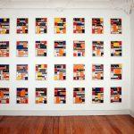 Volker Hildebrandt, Ausstellung Betrachtungen zur Zeit und Bild, Karin Bolz Galerie, Köln, 1992 4