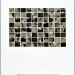 Volker Hildebrandt, Bürgerpalast der Gewaltenteilung, 14.2.1998, Collage auf Karton, 59,5  x 42 cm