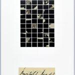 Volker Hildebrandt, Bertolt Brecht, 7.2.1998, Collage auf Karton, 59,5  x 42 cm