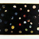 Volker Hildebrandt, Concetto Triviale 20p, Max Ernst Die Jungfrau..., 1993, Acryl auf Poster, 55 x 76 cm
