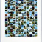 Volker Hildebrandt, DC 10, Köln, 1997, Collage auf Karton, 75  x 58 cm