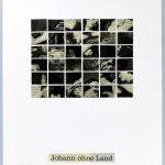 Volker Hildebrandt, DC 2, Johann ohne Land, 1997, Collage auf Karton, 40  x 30 cm