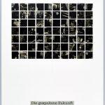 Volker Hildebrandt, DC 4, Die gespaltene Zukunft, 1997, Collage auf Karton, 59,5  x 42 cm