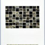 Volker Hildebrandt, Der Furor der Einheit gebiert Zwietracht, 24.1.1998, Collage auf Karton, 59,5  x 42 cm