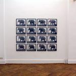 Volker Hildebrandt, Elephants.Eyes, Galerie Epikur Wuppertal, 2007 4
