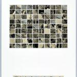 Volker Hildebrandt, Hinter konfuzianischer Fassade, 18.1.1998, Collage auf Karton, 59,5  x 42 cm