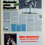 Volker Hildebrandt, Kunstzeitung Araki, 1997-99,  Acryl auf Zeitung auf Leinwand,  47 x 33 cm