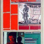 Volker Hildebrandt, Kunstzeitung Soldat, 1997-99,  Acryl auf Zeitung auf Leinwand,  47 x 33 cm