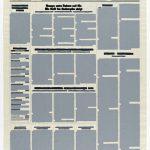 Volker Hildebrandt, M 241, 1998, Acryl auf Zeitung, ca 55 x 40 cm