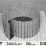 Volker Hildebrandt, Plakat Rosa Schnecke, Wuppertal, 1986