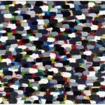 Volker Hildebrandt, ohne Titel, 1983, Acryl auf Leinwand, 60 x 90 cm